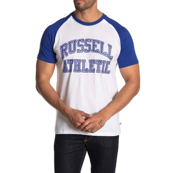 Russell Athletic Other - Russell Athletic Contrast Raglan Tee Size XL
